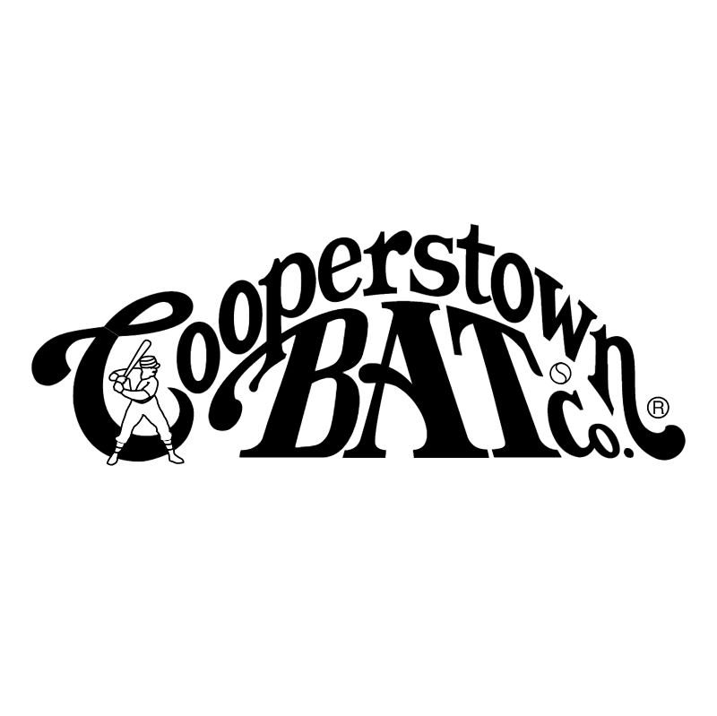 Cooperstown Bat vector