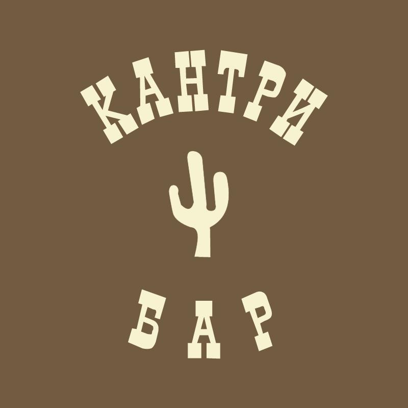 Country Bar vector logo