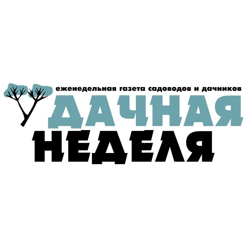 Dachnaya Nedelya vector