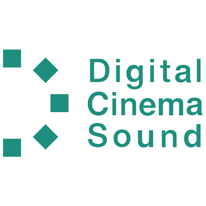Digital Sinema Sound vector
