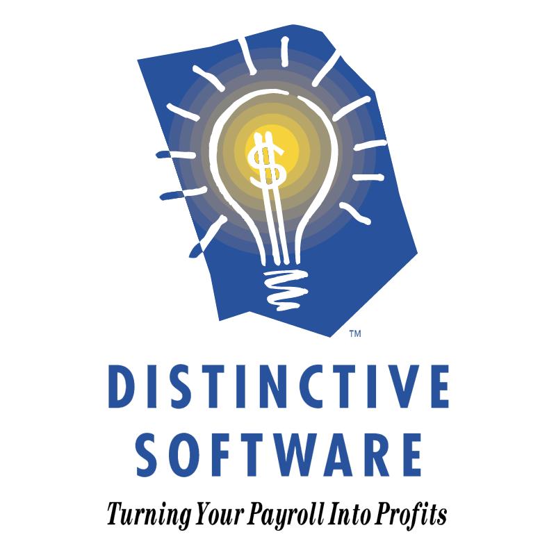 Distinctive Software vector logo