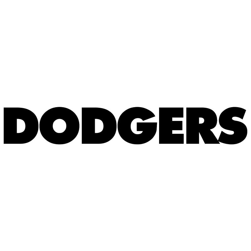 Dodgers vector