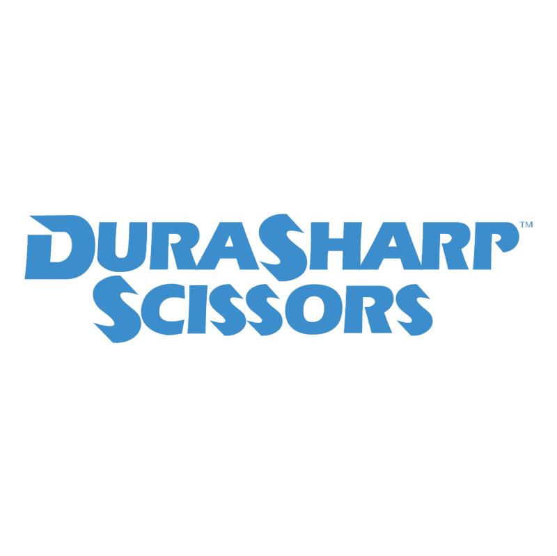 DuraSharp Scissors vector logo