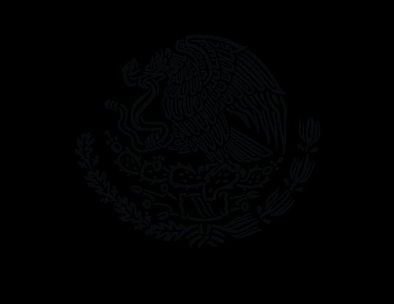 ESCUDO NACIONAL MEXICANO vector