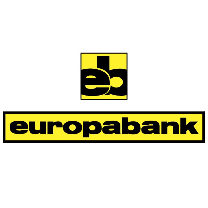 Europabank vector