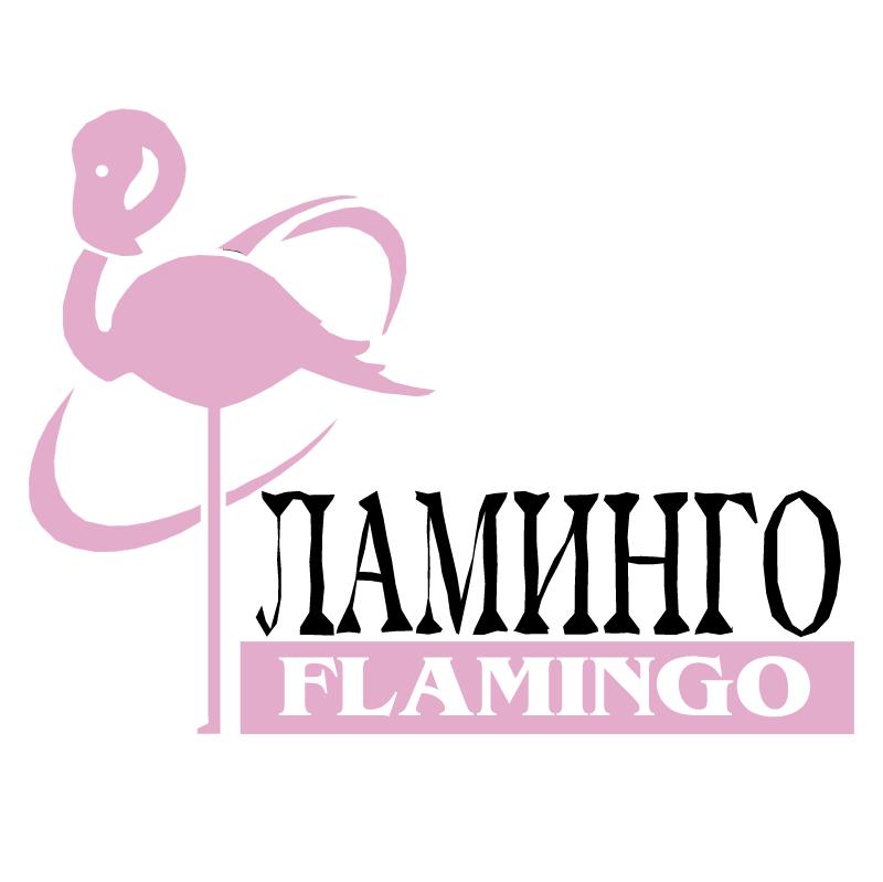Flamingo vector logo