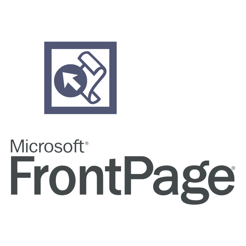 FrontPage vector logo