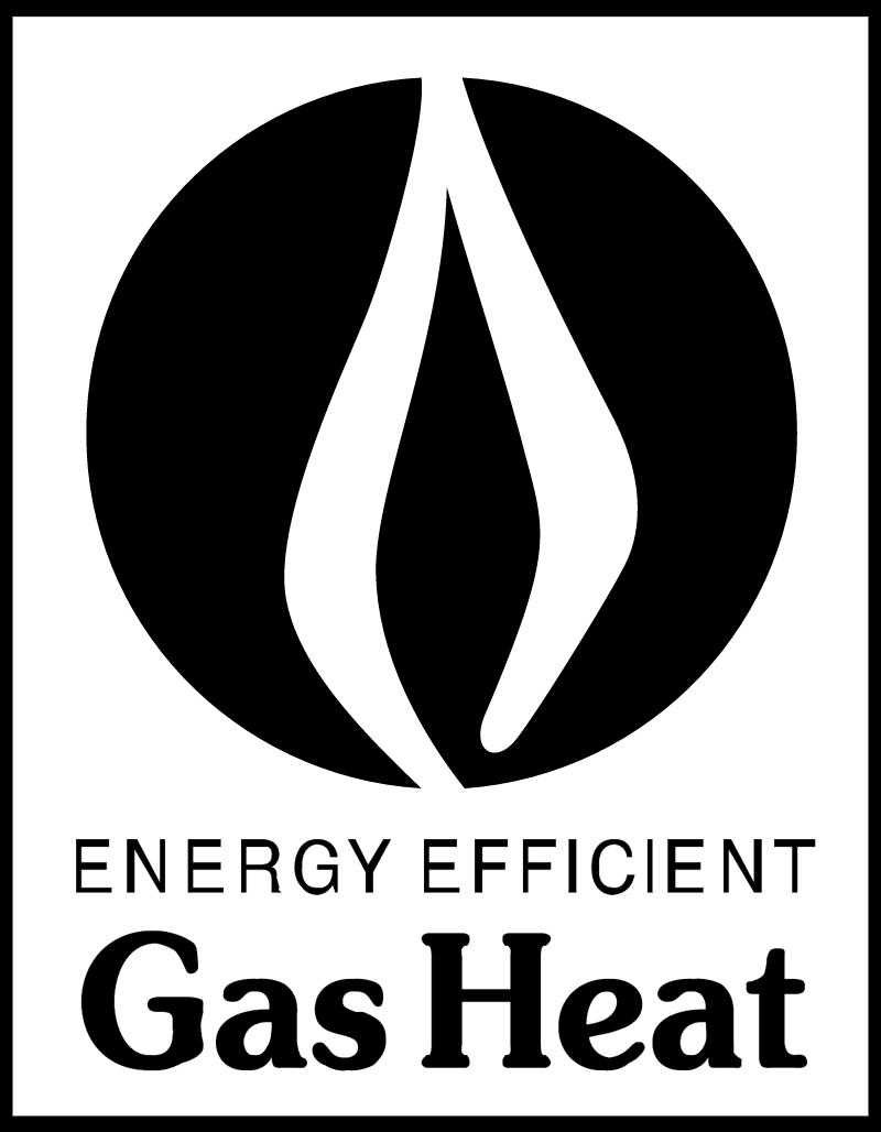 GAS HEAT vector