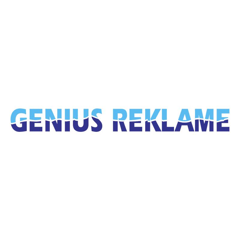 Genius Reklame vector
