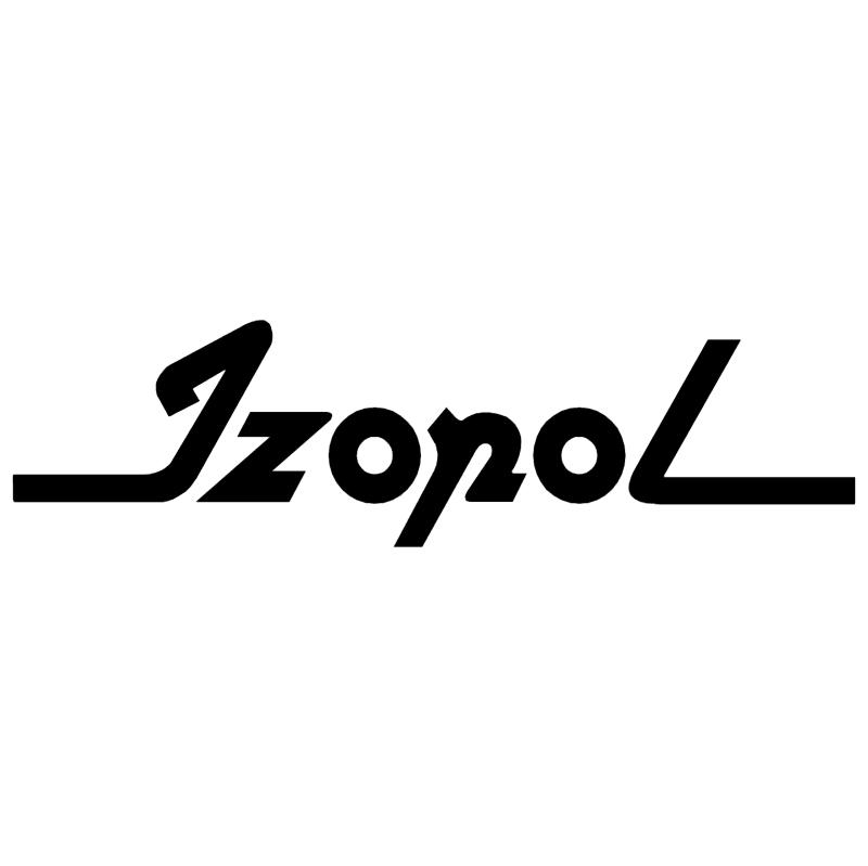 Izopol vector logo