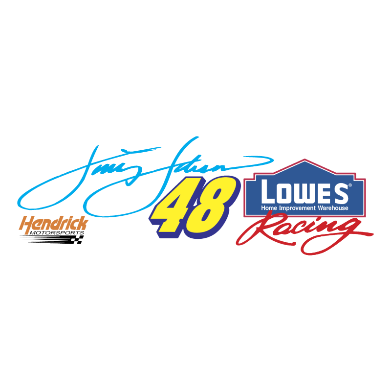 Jimmie Johnson vector