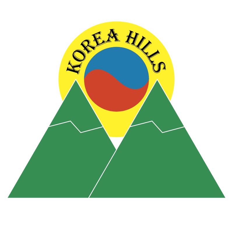 Korea Hills vector