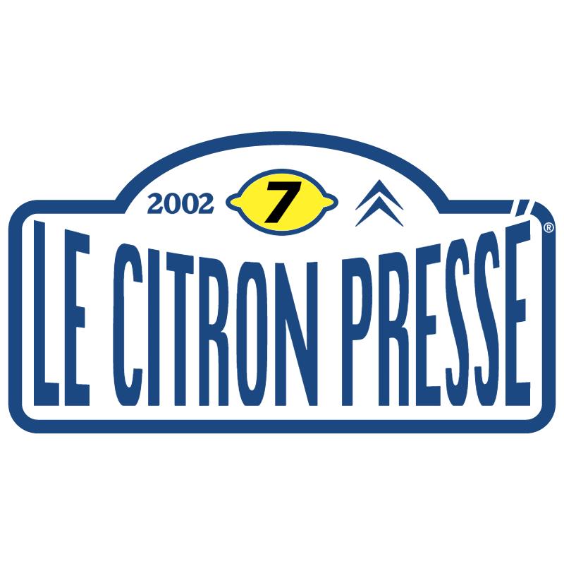Le Citron Presse 2002 vector