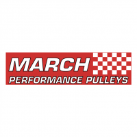 March Performance Pulleys vector
