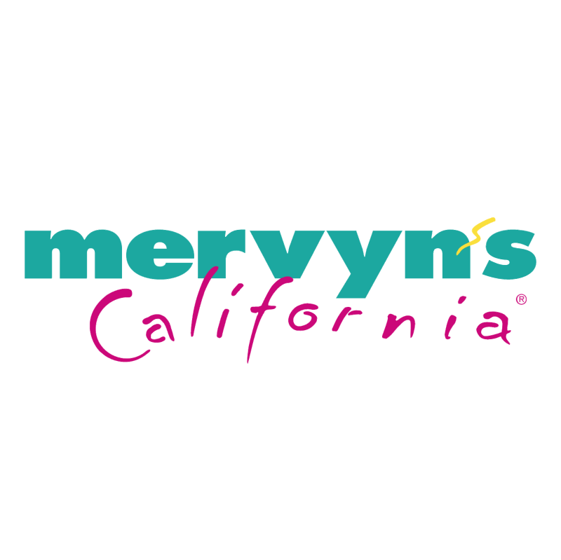 Mervyn's California vector