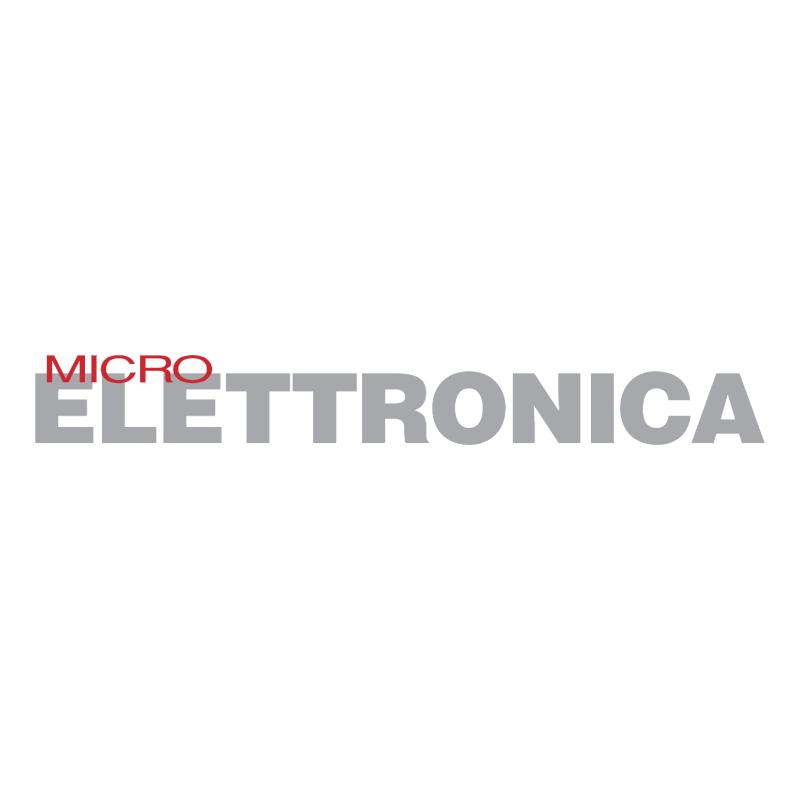 Micro Elettronica vector