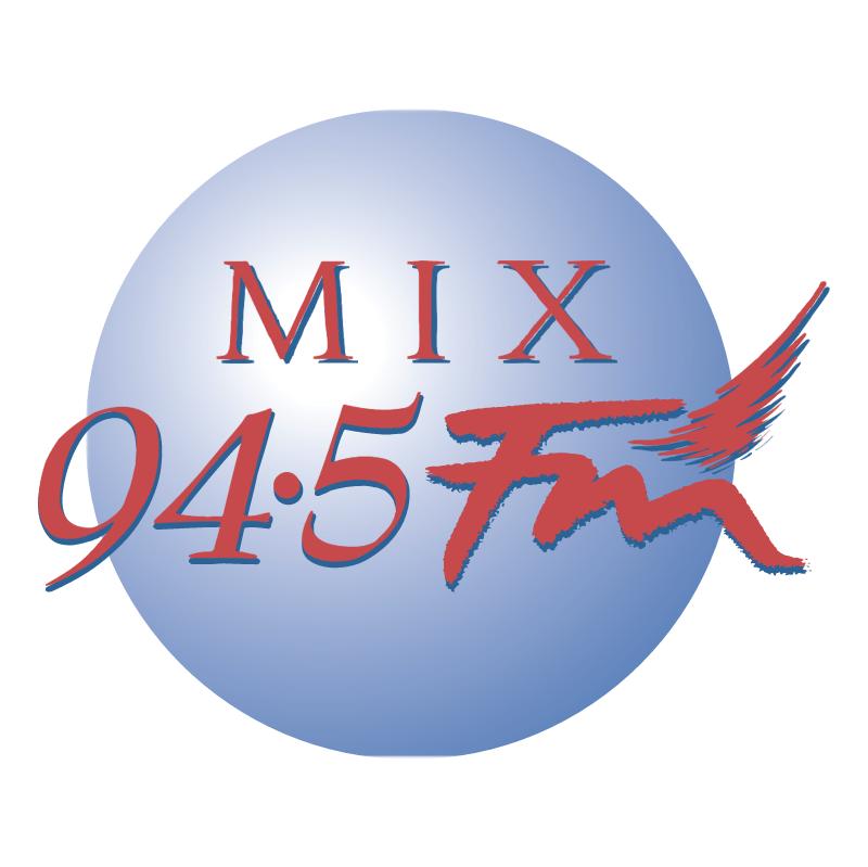 Mix 94 5 FM vector logo