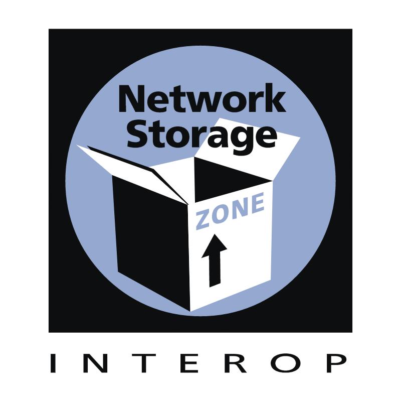 Network Storage Zone vector logo