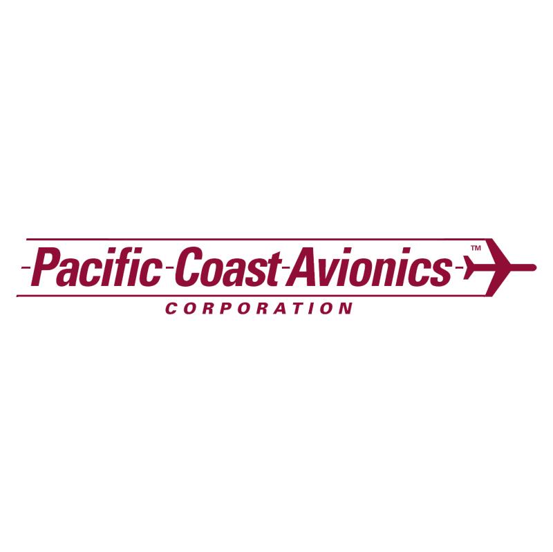 Pacific Coast Avionics vector logo