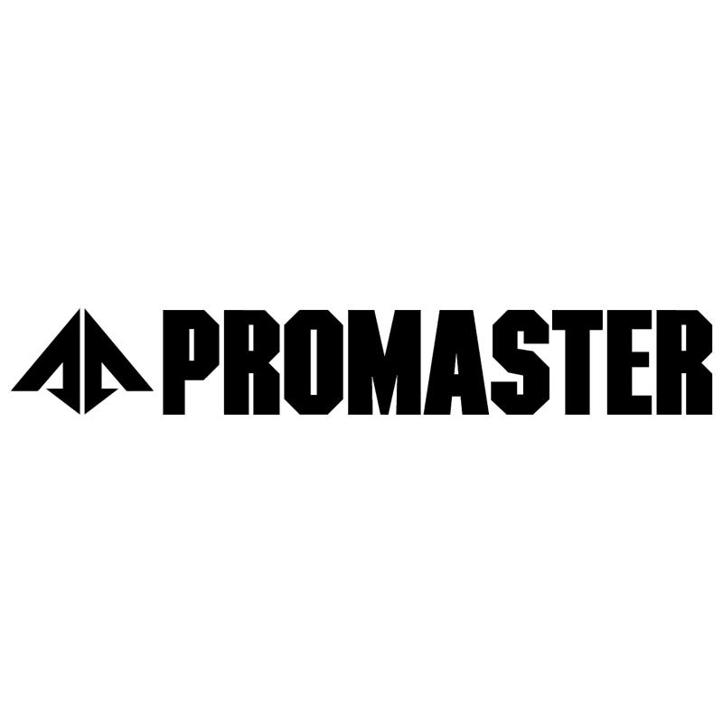 Promaster vector logo