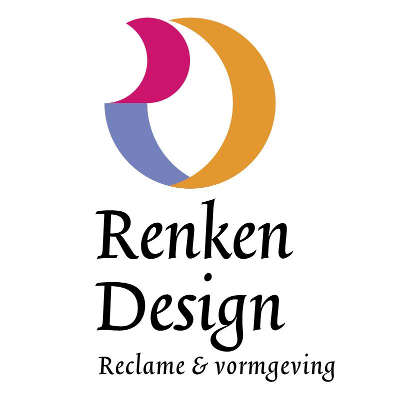 Renken Design bno bv vector logo