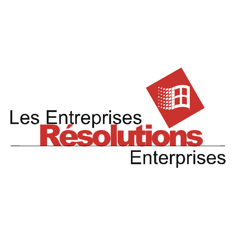 Resolutions Enterprises vector logo