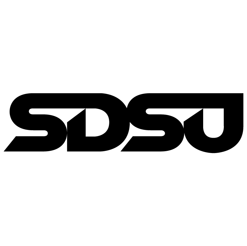 SDSU vector logo