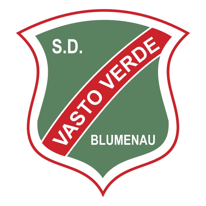 Sociedade Desportiva Vasto Verde de Blumenau SC vector