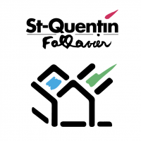 St Quentin Fallavier Ville vector