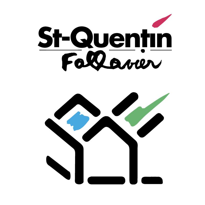 St Quentin Fallavier Ville vector logo