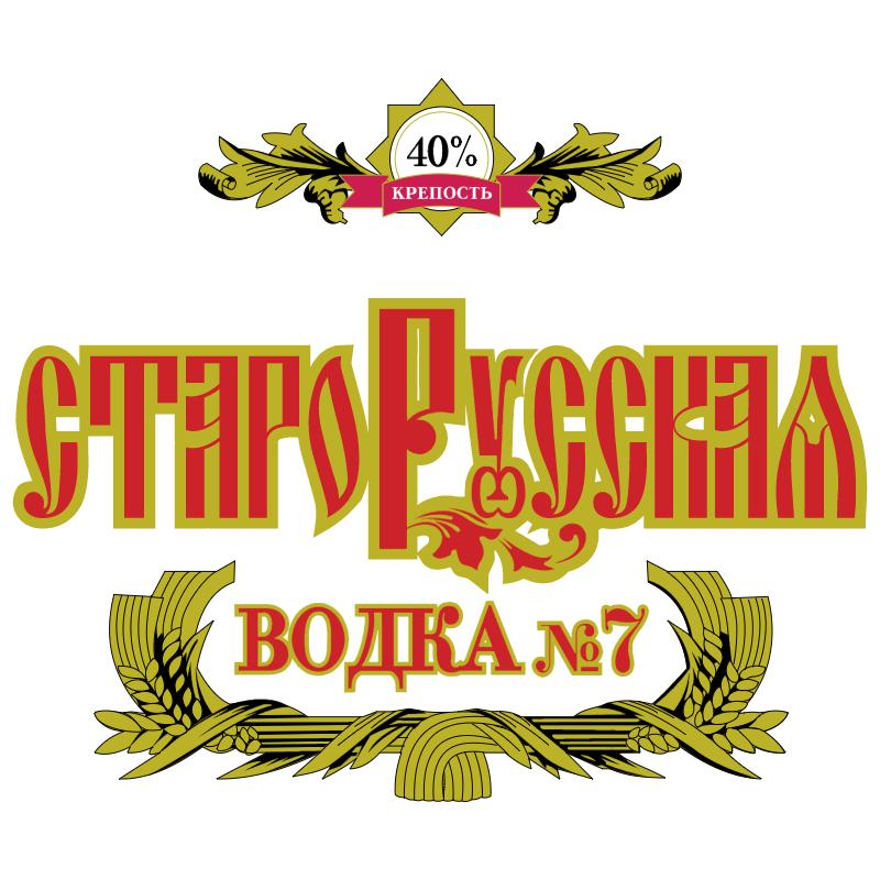 Starorusskaya Vodka vector