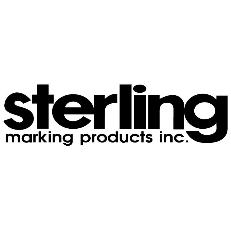 Sterling Marking Product vector
