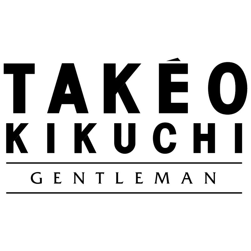 Takeo Kikuchi Gentleman vector logo