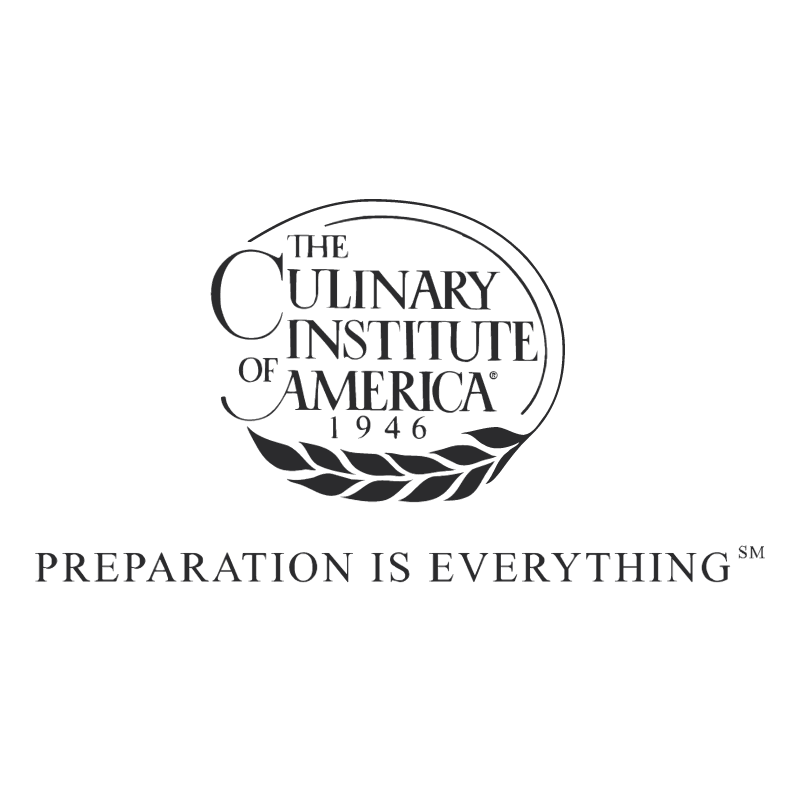 The Culinary Institute of America vector