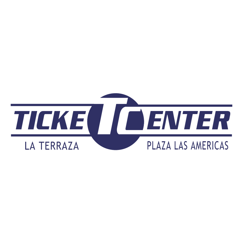Ticket Center vector