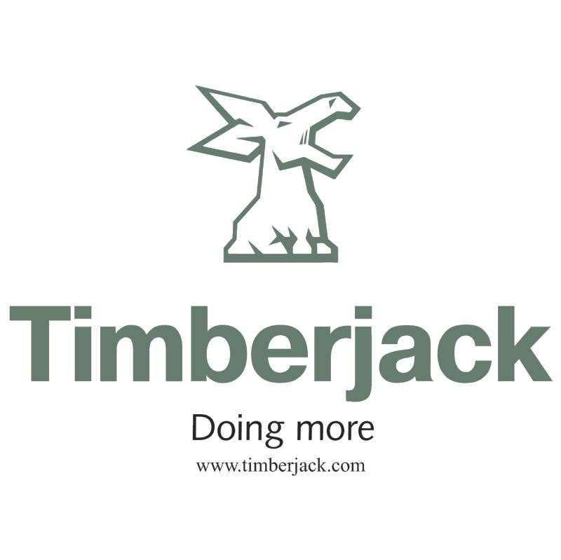 Timberjack vector logo