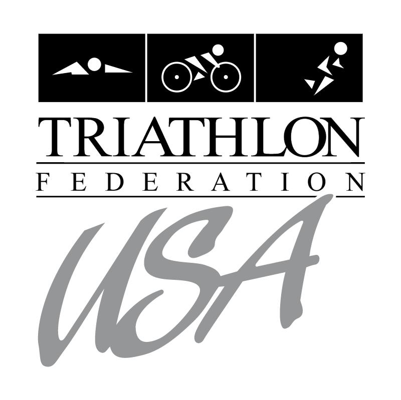 Triathlon Federation USA vector
