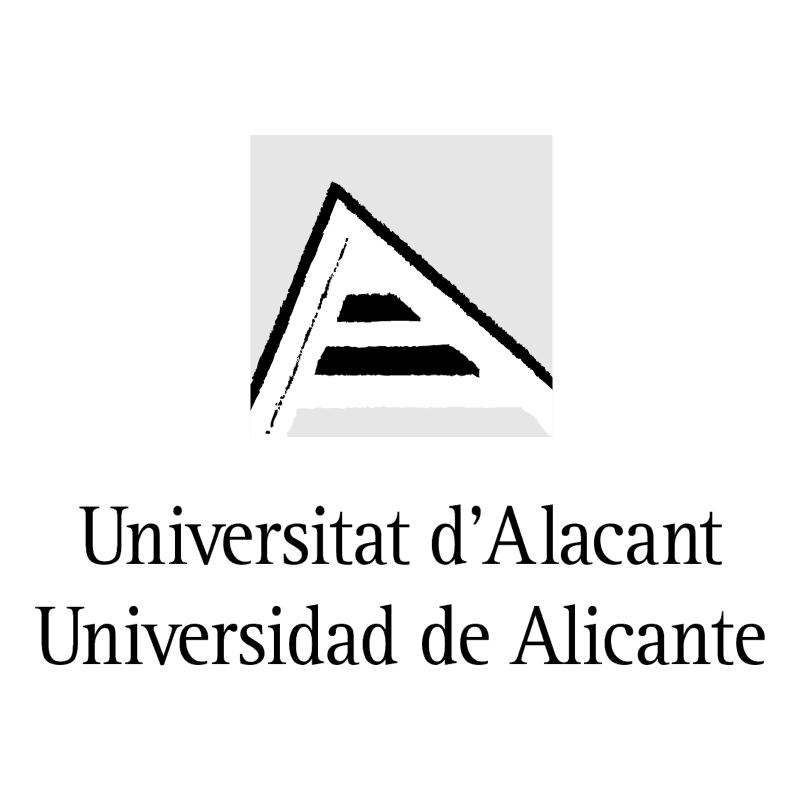 Universidad de Alicante vector logo