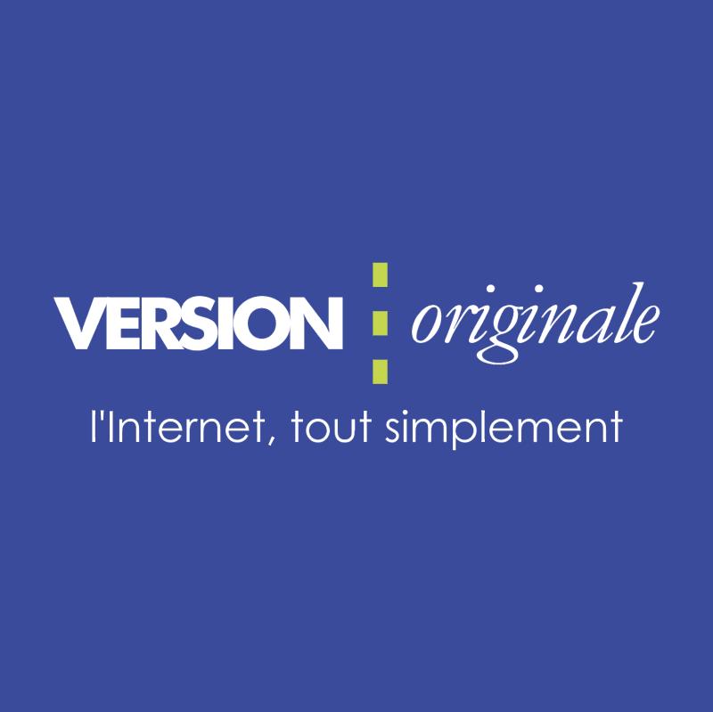 Version Originale vector