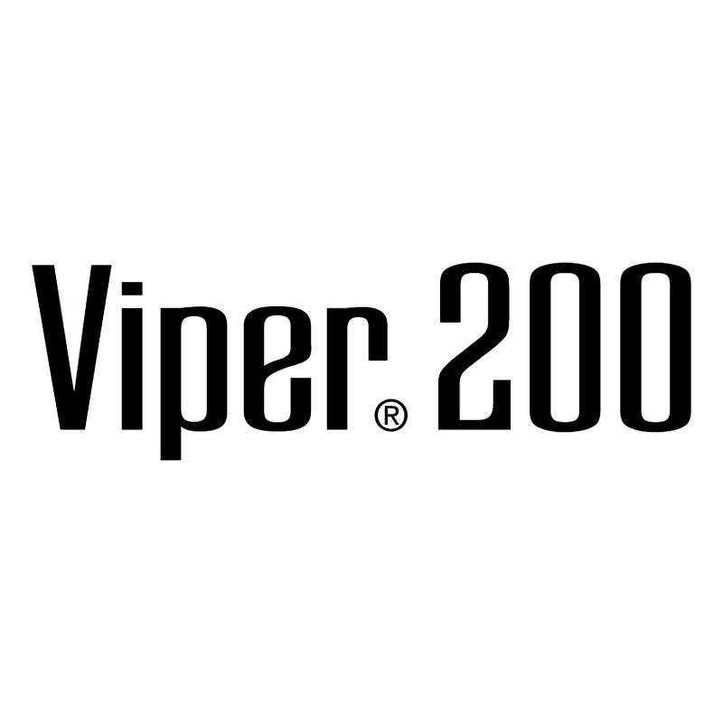 Viper 200 vector logo