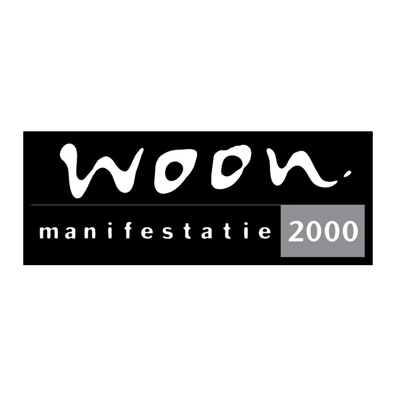 Woon Manifestatie 2000 vector