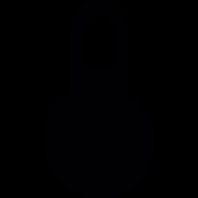 Padlock closed vector logo