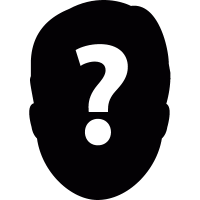 Face with a question mark vector