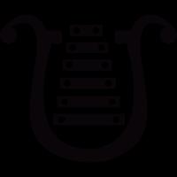 Bell lyre vector