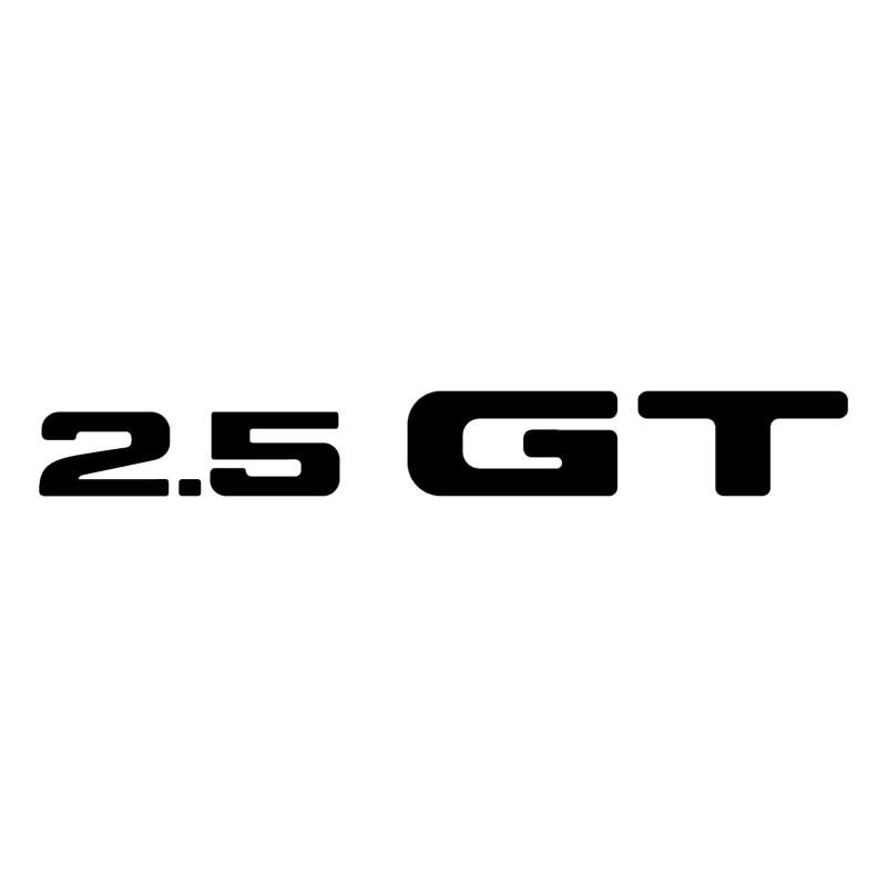 2 5 GT vector