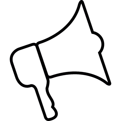 Speaker cone, IOS 7 interface symbol vector logo