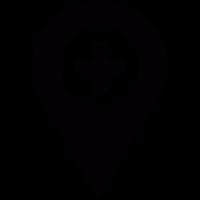 Pharmacy location pointer vector