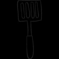 Spatula utensil vector