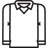 Shirt with Vest vector