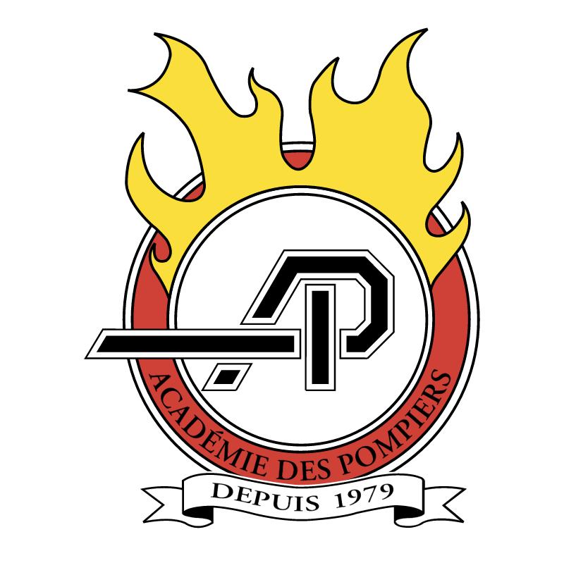 Academie des Pompiers vector